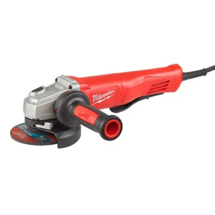 AGV 13-125 XSPDE - 1250 W angle grinder with AVS and slim paddle switch