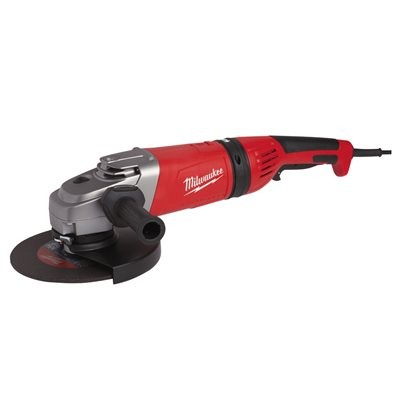 AGVM 26-230 GEX-DMS - 2600 W angle grinder with AVS and kickback protection