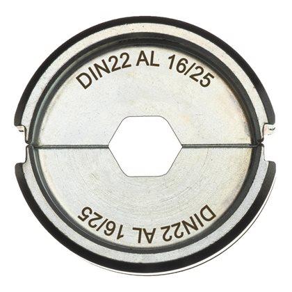 DIN22 AL 16-25 - 1 pc - Crimping dies DIN Aluminium