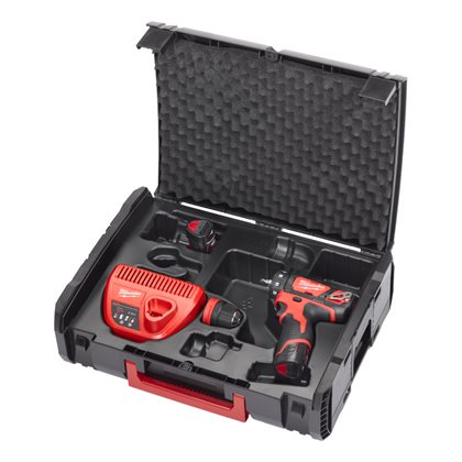 M12 BDDXKIT-202X - M12™ sub compact drill driver with removable chuck