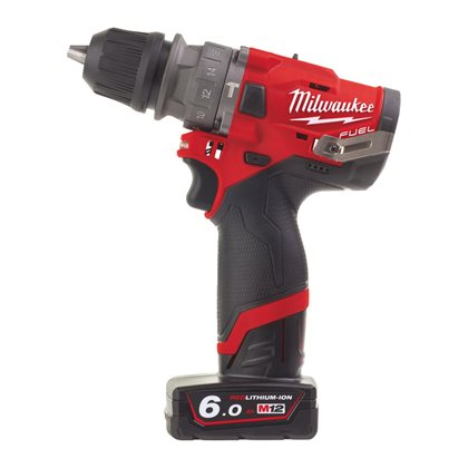 M12 FPDXKIT-602X - M12 FUEL™ sub compact percussion drill with removable chuck