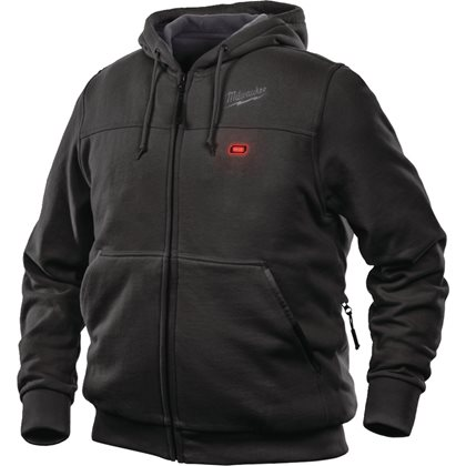 M12 HH BL3-0 (S) - M12™ Black Heated Hoodie