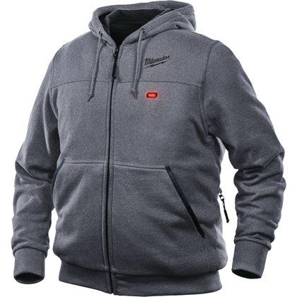 M12 HH GREY3-0 (S) - M12™ Grey Heated Hoodie