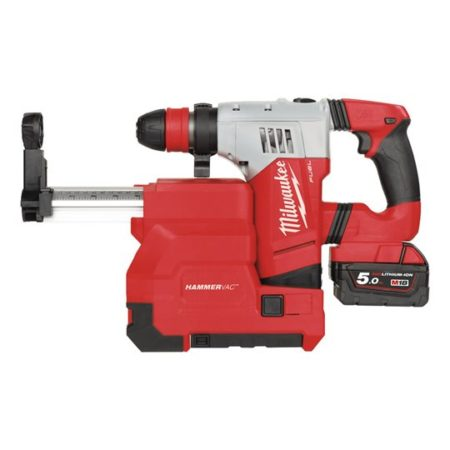 M18 CHPXDE-502C - M18 FUEL™ high performance SDS-plus hammer with dedicated dust extractor
