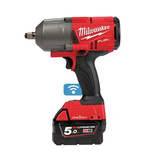 M18 ONEFHIWF12-502X - M18 FUEL™ ONE-KEY™ ½˝ high torque impact wrench with friction ring