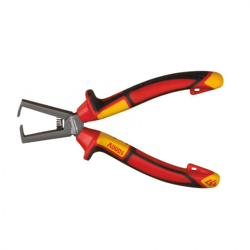 VDE Wire Stripping Plier 160mm - VDE wire stripping pliers