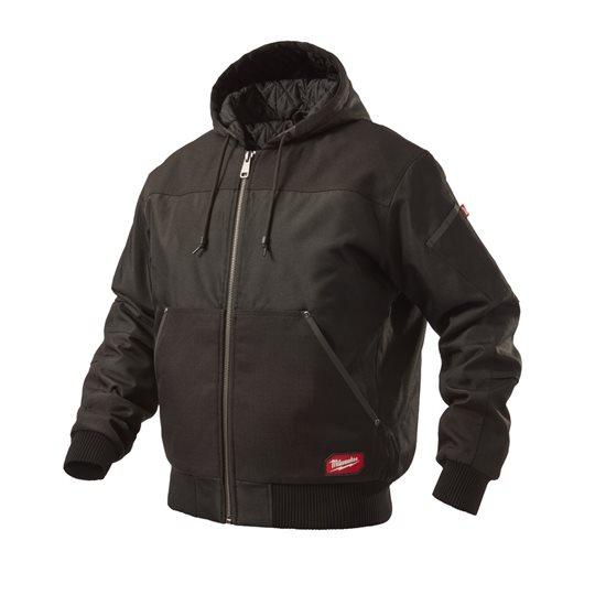 WGJHBL (S) - GRIDIRON™ Hooded jacket black