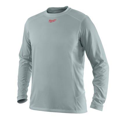WWLSG (S) - WORKSKIN™ light weight performance long sleeve shirt - Grey