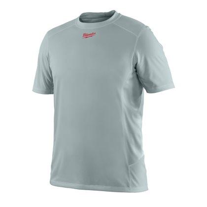WWSSG (S) - WORKSKIN™ light weight performance short sleeve shirt - Grey