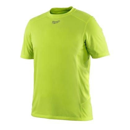 WWSSY (S) - WORKSKIN™ light weight performance short sleeve shirt - Hi-Vis