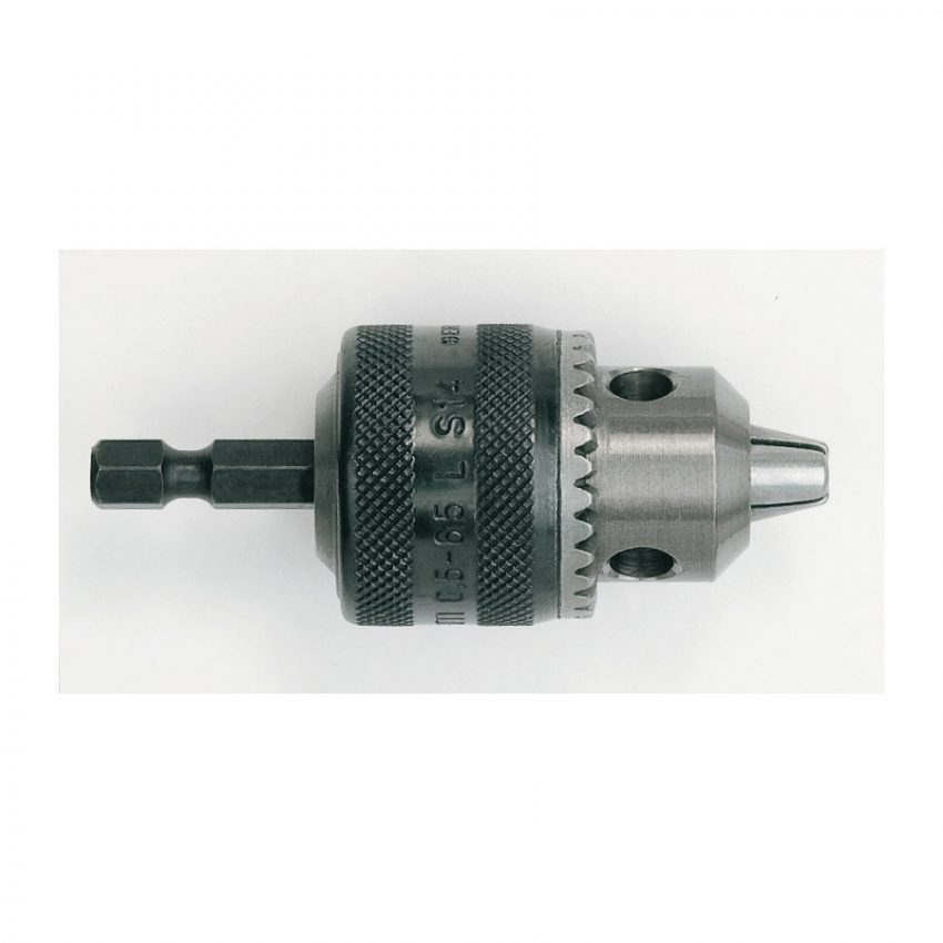 0.5 - 6.5 - ¼ Inch Hex - 1 pc - Keyed chucks with ¼˝ Hex reception