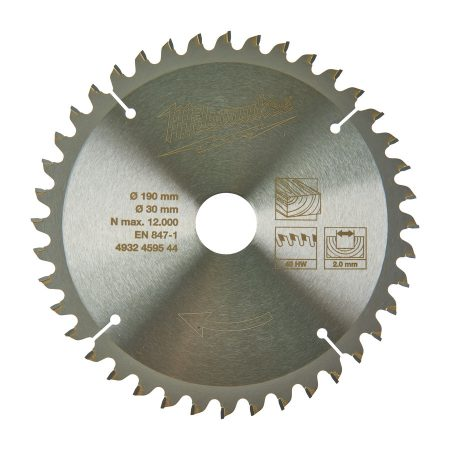 CircS WMS 190x30x40Z -1pc - Circular saw blades for mitre saws