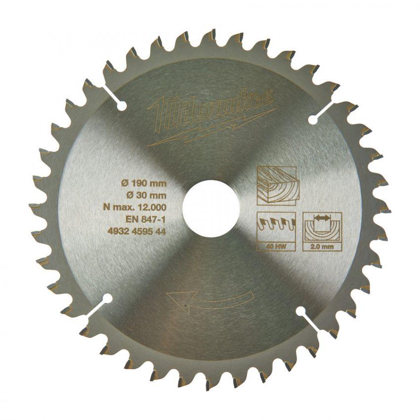 CircS WMS 190x30x40Z -1pc - Circular saw blades for mitre saws
