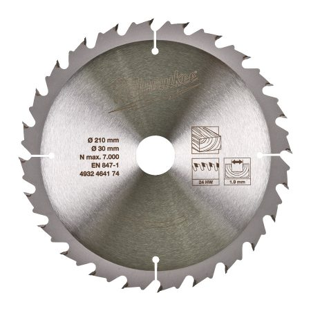 CircS WTS 210x30x24Z -1 pc - Circular saw blades for table saws