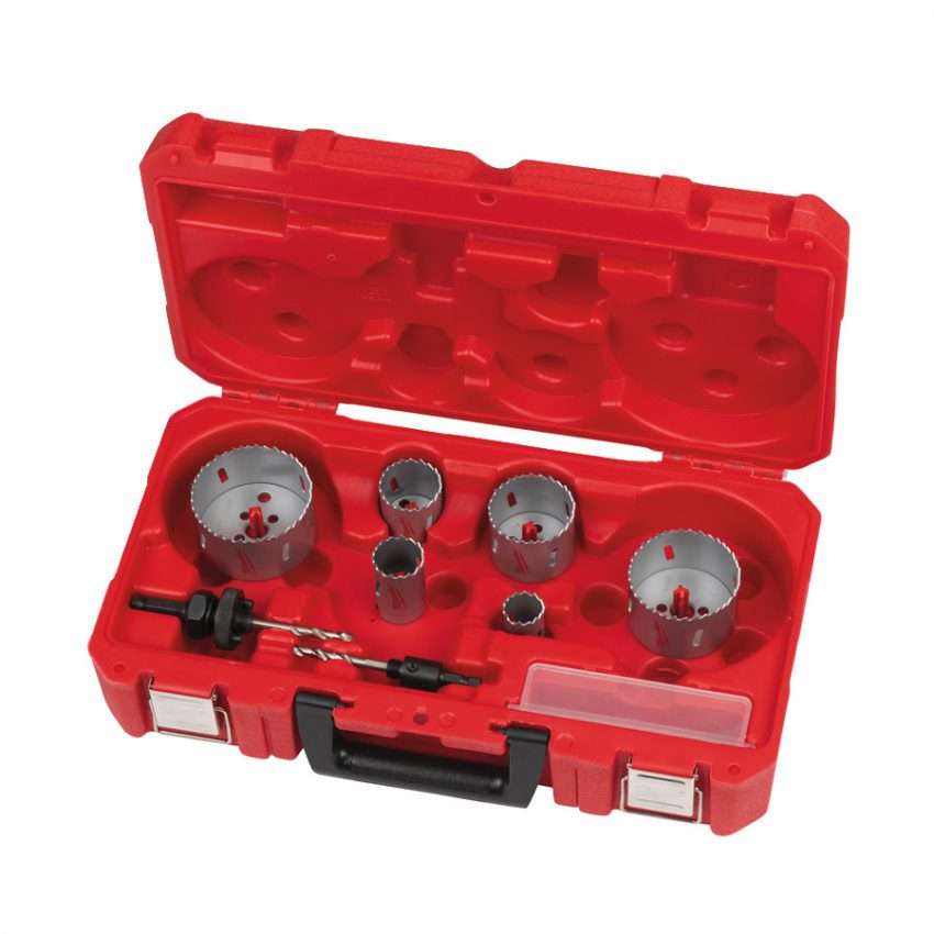 Contractor Holesaw Set - 10pc - Bi-Metal contractor holesaw - sets