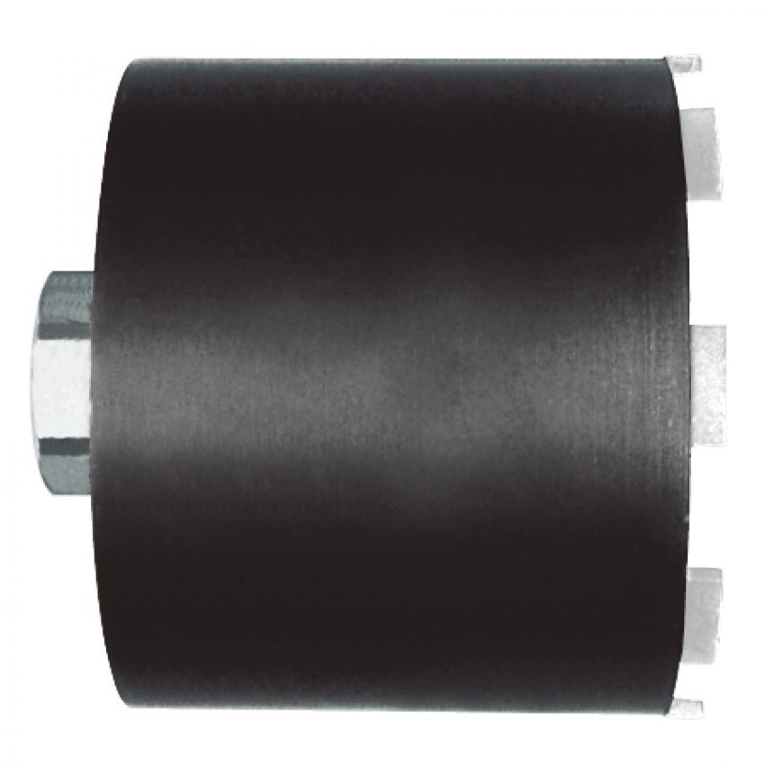DCHX 68 mm 1 ¼ Inch UNC - 1 pc - Dry diamond cores for electrical sockets with dust extraction - DCHX