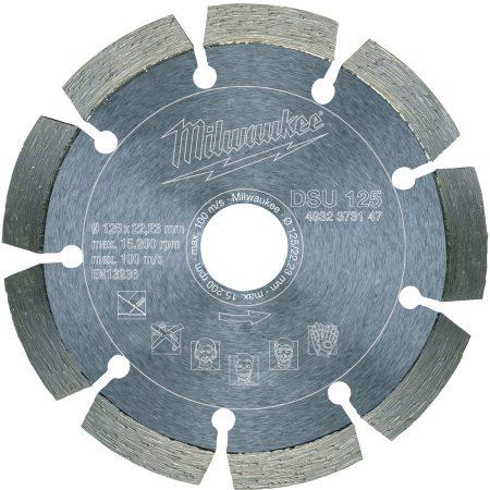 DSU 125 mm - 1 pc - Diamond blades DSU