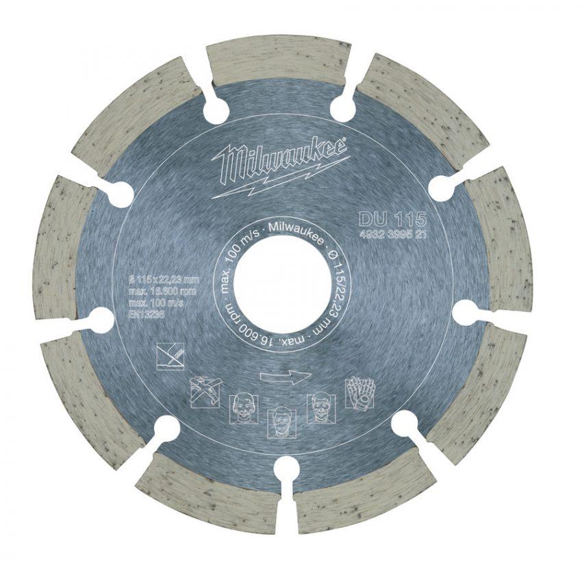 DU 115 mm - 1 pc - Diamond blades DU