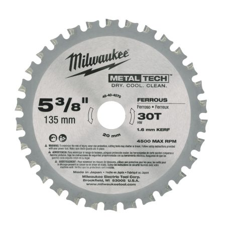 F 135 x 20 x 30 - 1 pc - Circular saw blades for metal