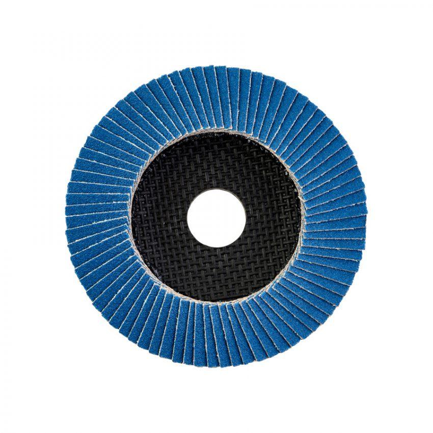 Flap disc Zirconium 115 mm - Grit 80 - Flap discs Zirconium