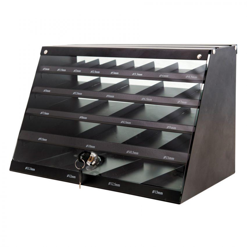 HSSR Cabinet - 345 pcs - Metal drill bits HSS rollforged - DIN 338 - 345 pc cabinet