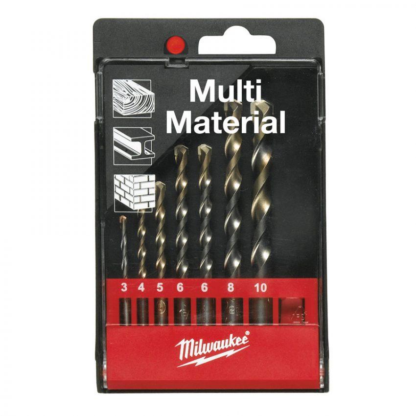 MPD 7 pc set 1 - Multi material drills bit sets
