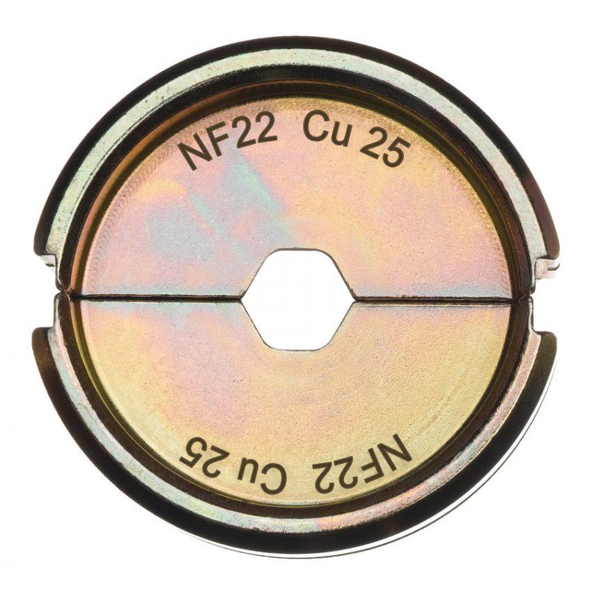 NF22 Cu 25 - 1 pc - Crimping dies NF