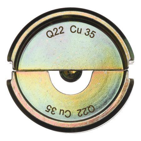 Q22 CU 35 - 1 pc - Crimping dies Q