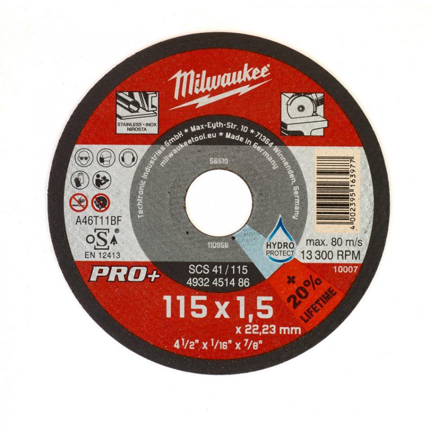 SCS 41 - 115 x 1 x 22 mm - 50 pcs - Thin metal cutting discs PRO+