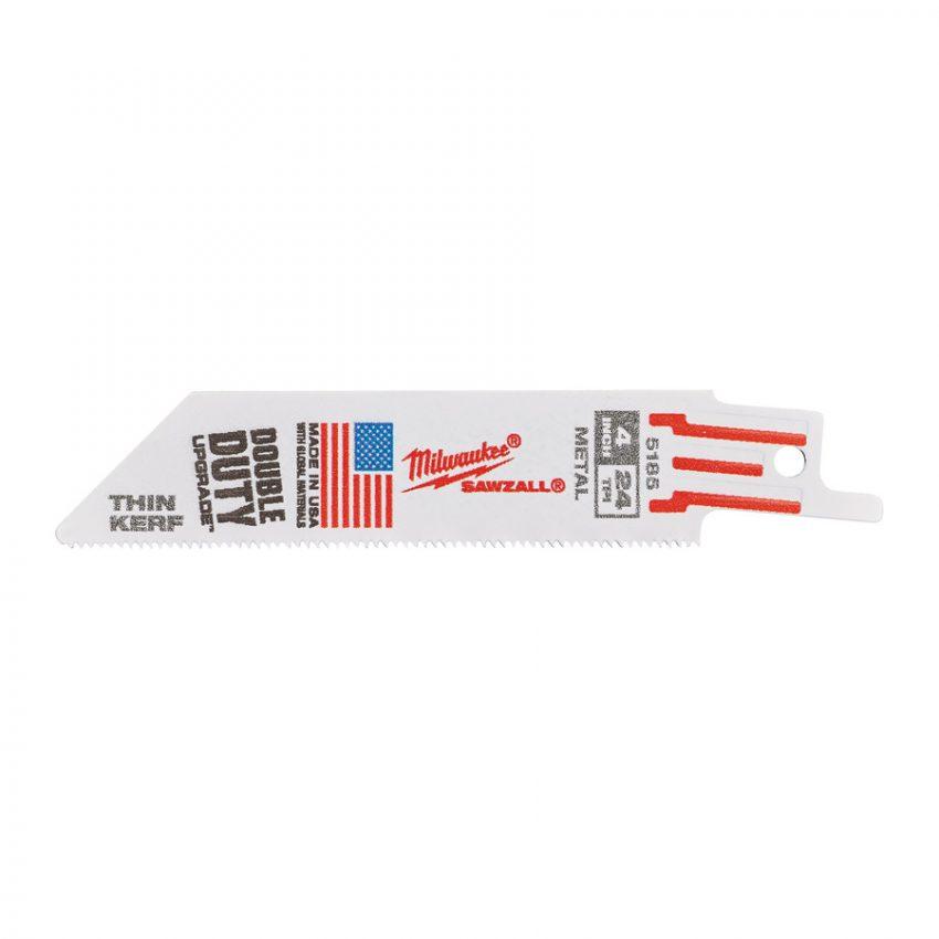 SM 100 x 24 Tpi - 5 pcs - Metal THIN KERF blades