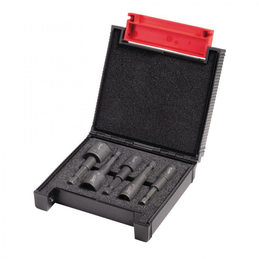 Shockwave Magnetic Nut Drivers Set - 5 pcs - SHOCKWAVE™ Impact Duty™ magnetic nut driver set (5pc)