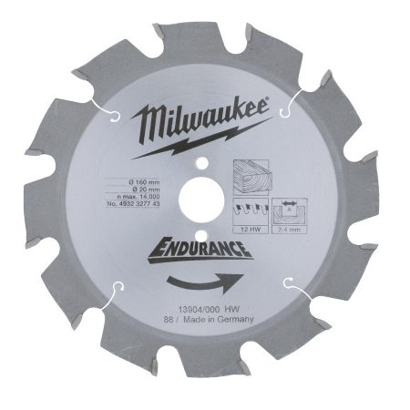 WCSB 160 x 20 x 12 - 1 pc - Circular saw blades for portable tools