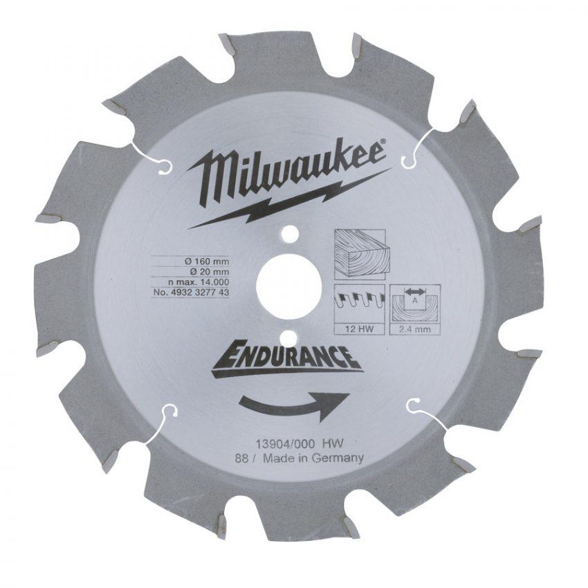 WCSB 160 x 20 x 12 - 1 pc - Circular saw blades for portable tools