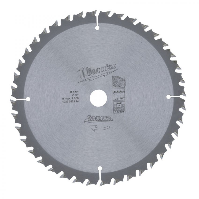 WNF 165 x 15.87 x 40 - 1 pc - Circular saw blades for cordless tools